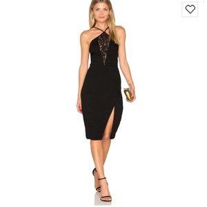 NEW • Saylor • Audree Black Lace Dress XS